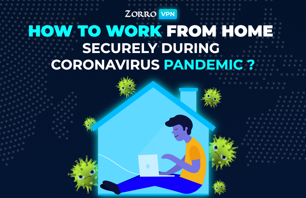 work safely from home during a coronavirus