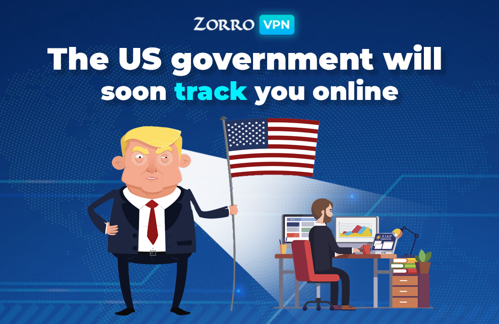 The US government track you online information