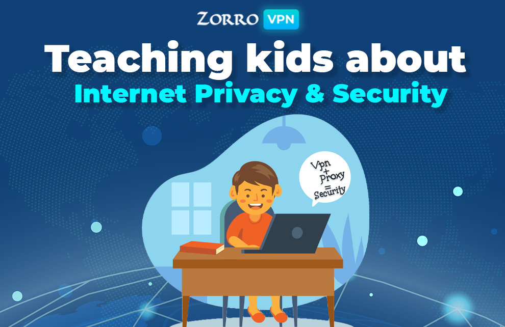 Teaching kids about Internet Privacy and Security