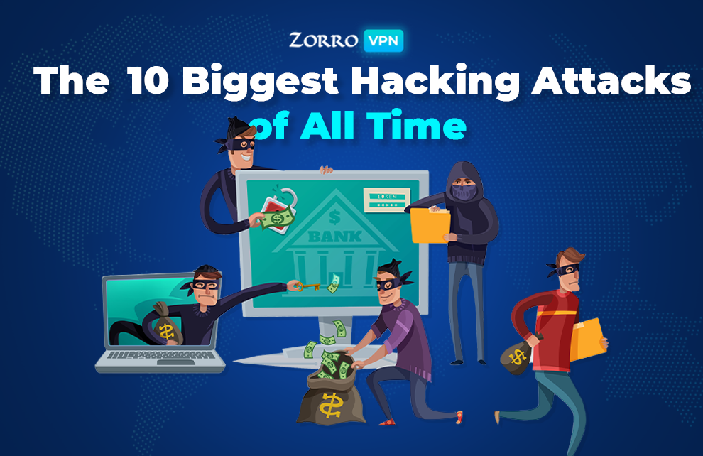 The ten most famous hacker attacks in history