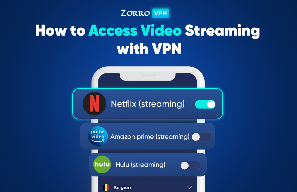 How to Access Video Streaming with VPN — Unblock Movie Sites
