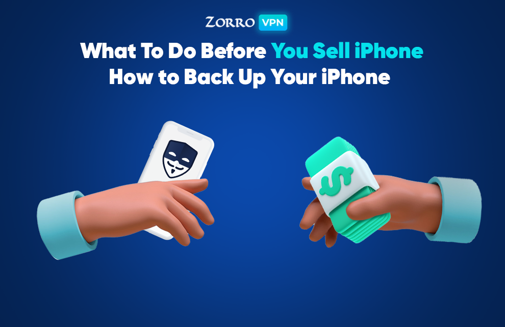 How to back up your iPhone before wiping it