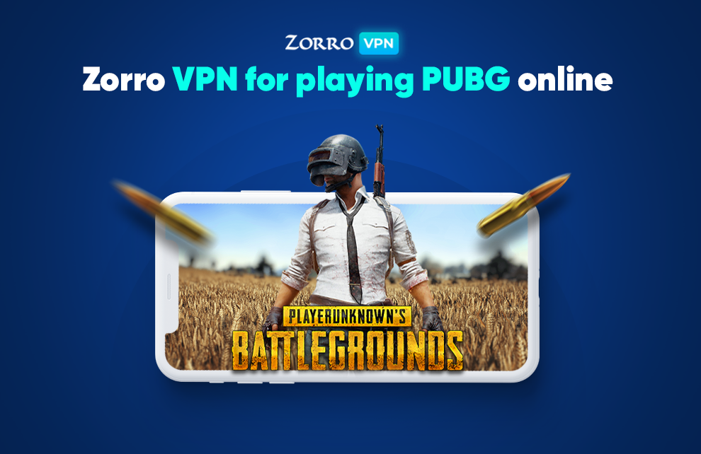 Zorro VPN for playing PUBG mobile